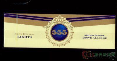 烟草局用来鉴定555真假的方法是:将555香烟的烟丝倒入丙酮...